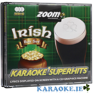Irish Superhits Triple CD+G Pack