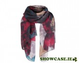 Navy & Brown Scarf