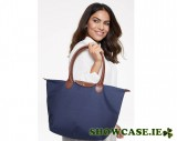 Navy Folding Tote Bag